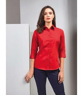 Camasa Femei 3/4 Sleeve Poplin Premier