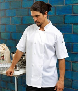Halat Chef Short Sleeve Premier