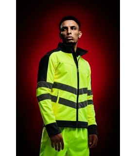 Jacheta Hi-Vis Pro 3 Layer Softshell Regatta