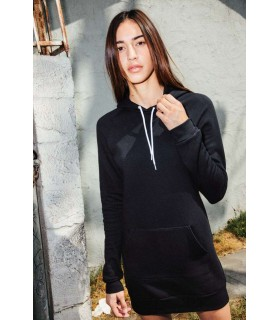 Rochita Dress Flex Fleece Hooded American Apparel