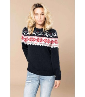 Pulover Unisex Deer Design Jumper X-Mas