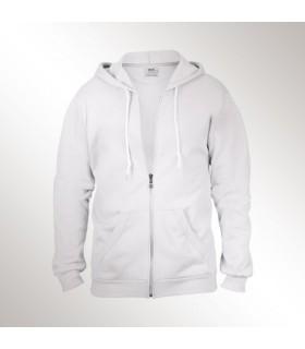 Sweatshirt full-zip hooded Anvil