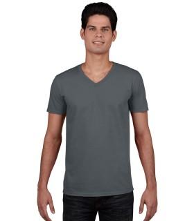 Tricou Gildan Softstyle V-neck