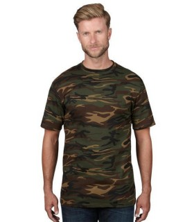 Tricou barbati Anvil Midweight Camouflage Tee