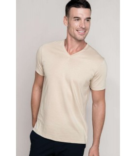 Tricou Barbati Kariban Short Sleeve V-neck