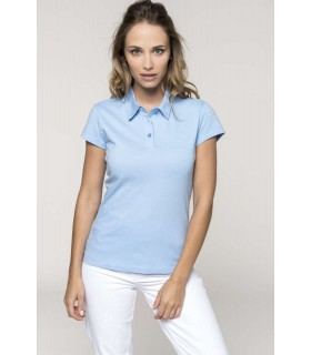 Polo Pique Femei Kariban Jersey Short Sleeve