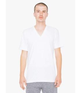 Tricou Unisex American Apparel V-neck Fine Jersey