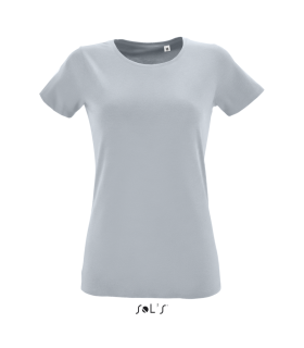 Tricou Femei Regent Fit Round Collar Fitted Sol's