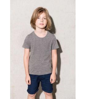 Tricou Copii Organic Cotton Short Sleeve Kariban